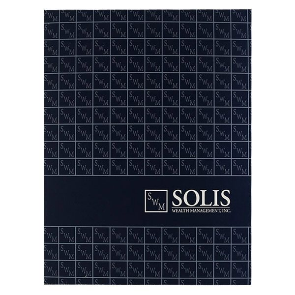 Solis Wealth Management, Inc. Pocket Folder (Front View)