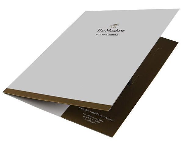 The Meadows at Shannondell Pocket Folder (Front Open View)