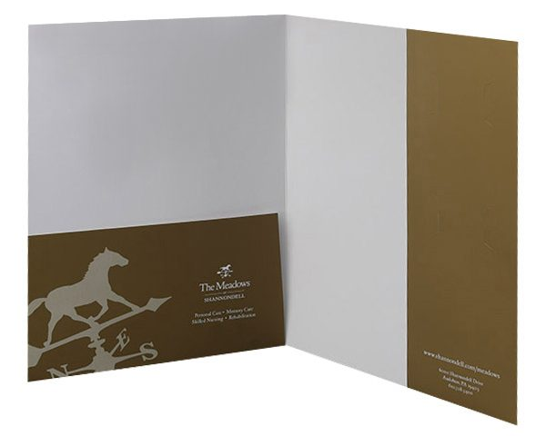 The Meadows at Shannondell Pocket Folder (Inside View)