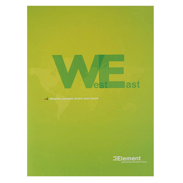 Element International Education Group Pocket Folder (Front View)
