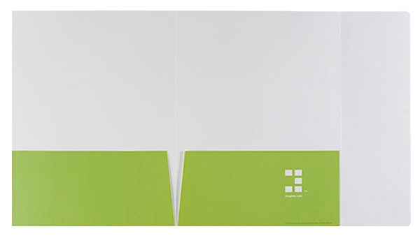 Element International Education Group Pocket Folder (Inside Flat View)