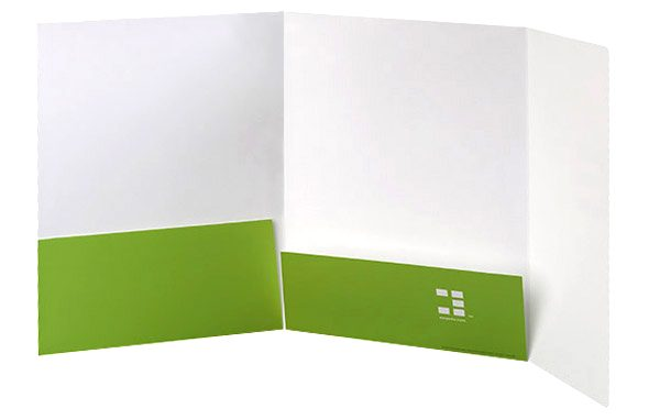 Element International Education Group Pocket Folder (Inside View)