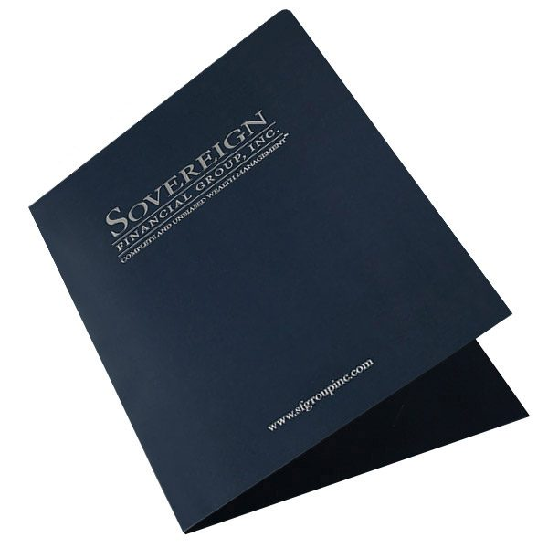 Sovereign Financial Group, Inc. Pocket Folder (Front Open View)