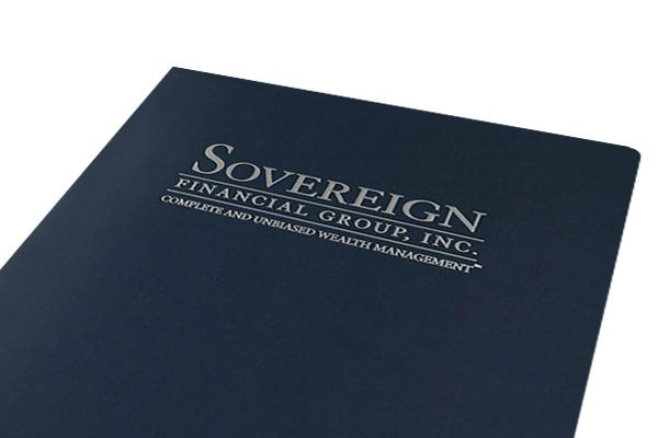 Sovereign Financial Group, Inc. Pocket Folder (Front Close View)