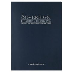 Sovereign Financial Group, Inc. Pocket Folder (Front View)