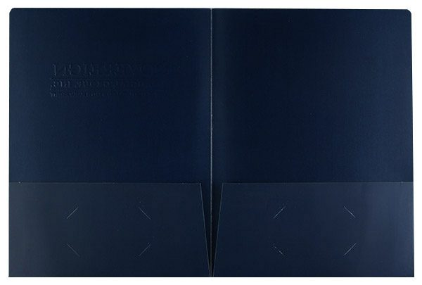 Sovereign Financial Group, Inc. Pocket Folder (Inside Flat View)