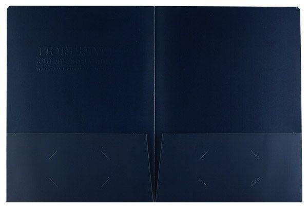 Sovereign Financial Group, Inc. Pocket Folder (Inside Flat View)
