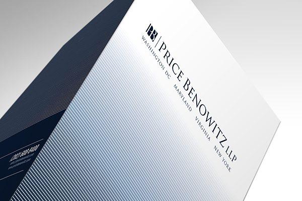 Price Benowitz LLP Pocket Folder (Top Tented View)