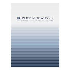 Price Benowitz LLP Pocket Folder (Front View)