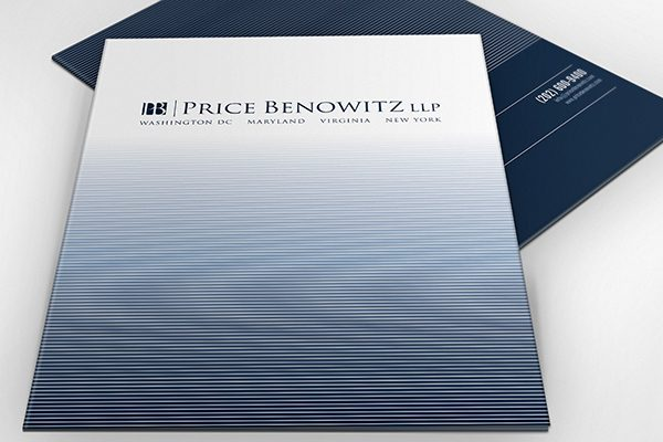 Price Benowitz LLP Pocket Folder (Stack of Two)
