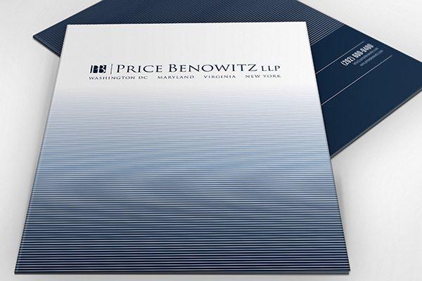 Price Benowitz LLP Pocket Folder (Stack of Two)