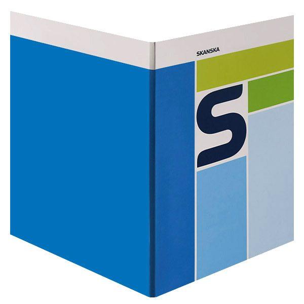 Skanska Pocket Folder (Front and Back View)