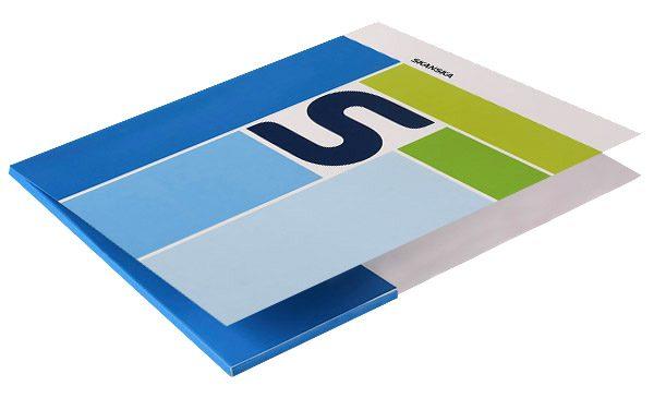 Skanska Pocket Folder (Front Open View)