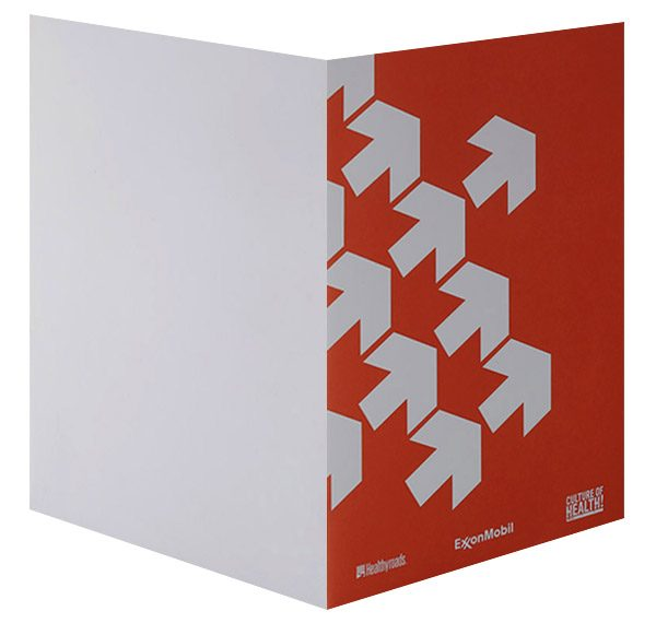 ExxonMobil Healthyroads Pocket Folder
