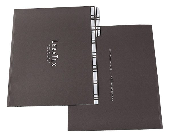 LebaTex Tabbed File Folder