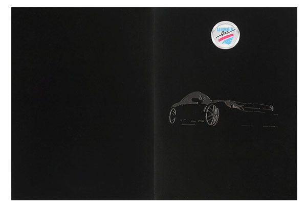 Automotive Art Pocket Folder