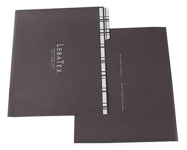 Custom File Folders Printed for LebaTex