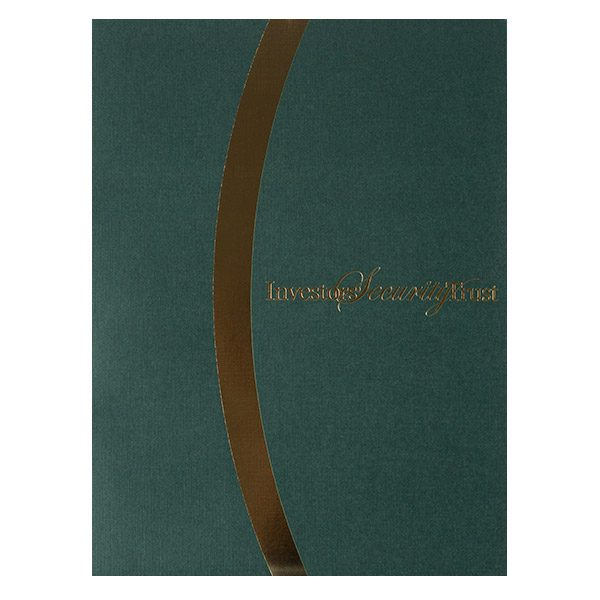 Investors' Security Trust Pocket Folder