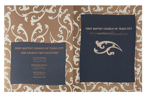First Baptist Church of Texas City Pocket Folder