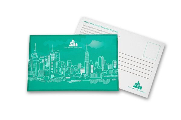 New York City Folder, Business Card & Postcard Template