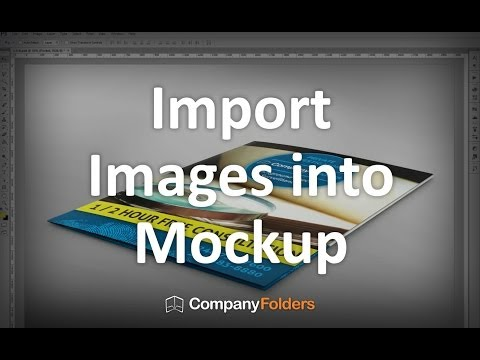 Importing Images into PSD Mockup Templates (2/3)