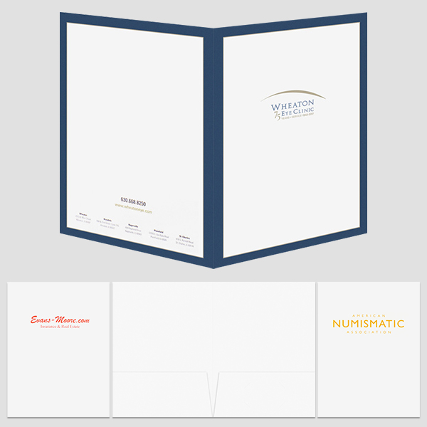 Cheap Custom Presentation Folder | Custom Printed