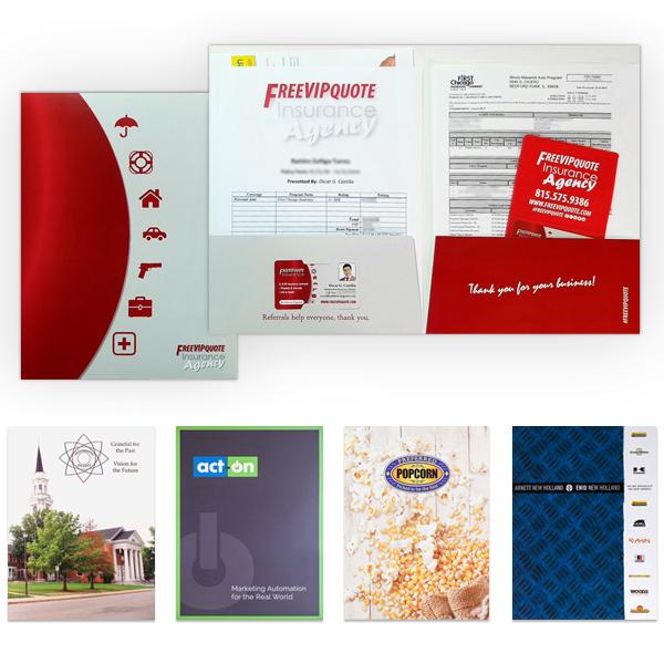 Full Color Presentation Folder | Custom Printed