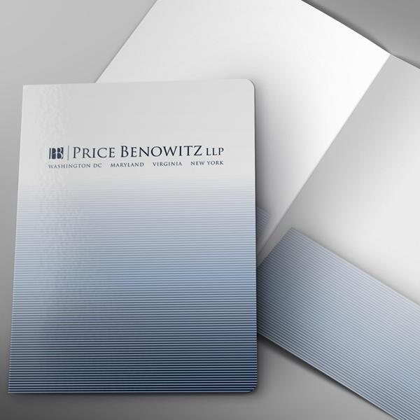 Legal Size Presentation Folder | Custom Printed