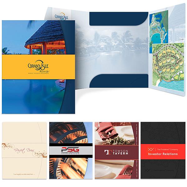 Presentation Folder & Business Cards Package | Custom Printed