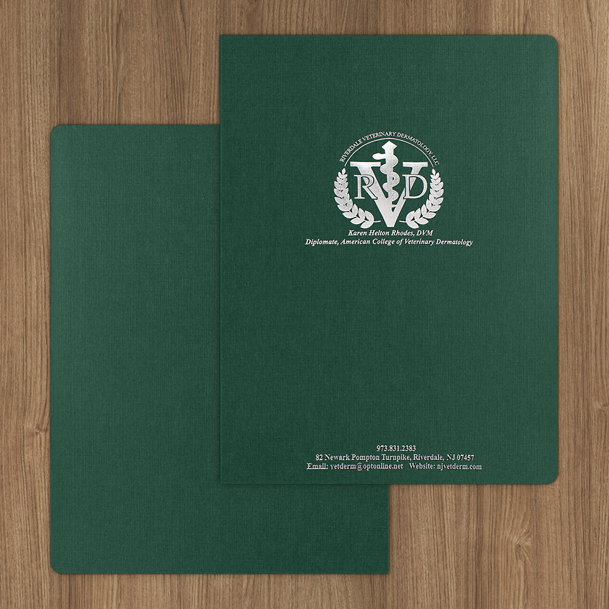 Rounded Corner Tax Return & Report Cover | Custom Printed