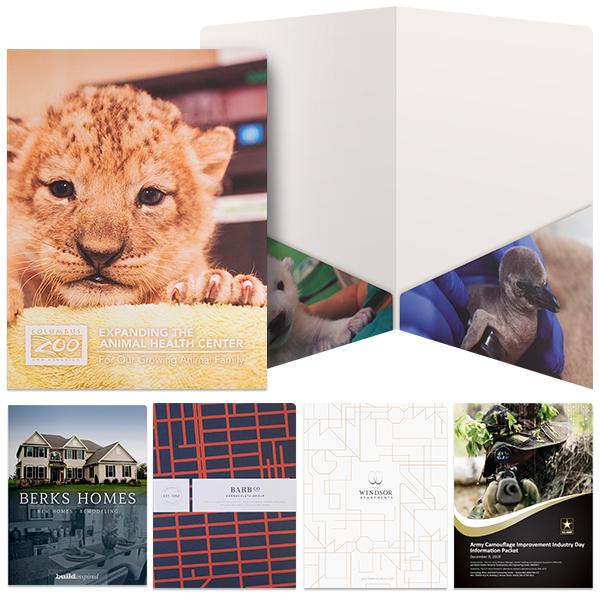 Slash Pocket Presentation Folder | Custom Printed