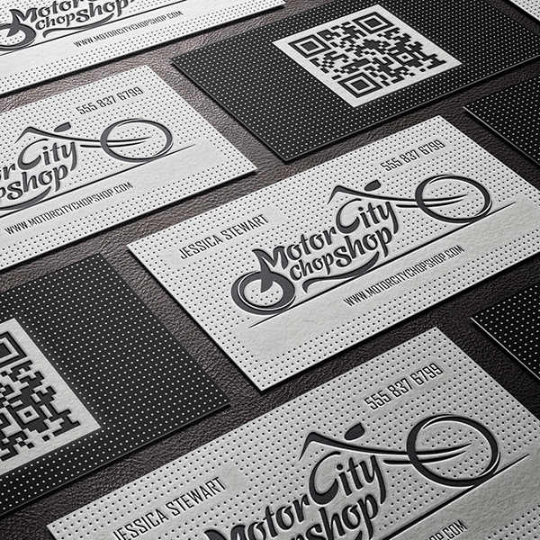 Business card design services creating designs youll love business card design letterpressed embossed colourmoves