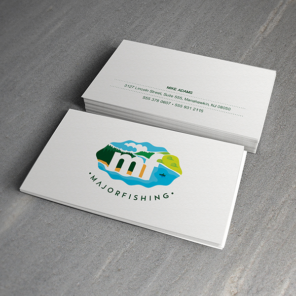 Business Card Design - Major Fishing
