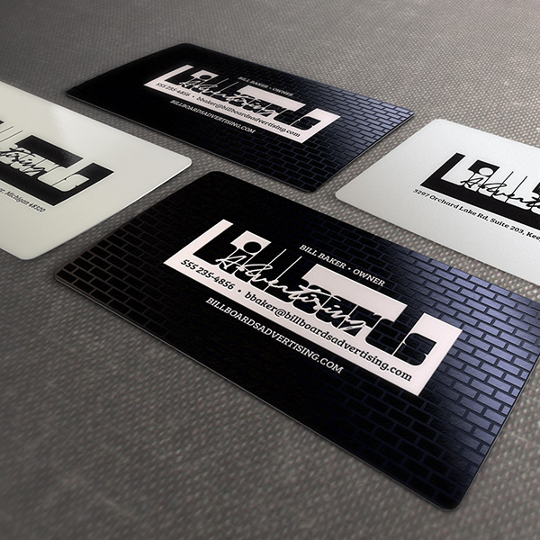 Business Card Design - Plastic