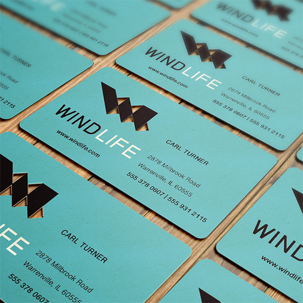 Business Card Design - Windlife