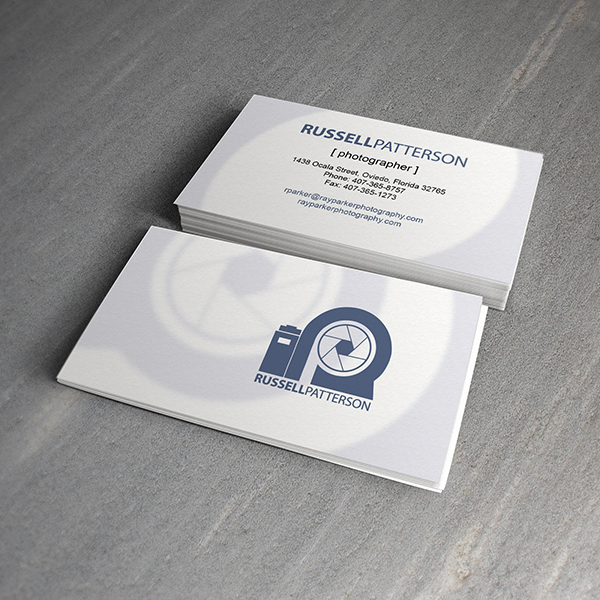 Business Card Design - Russell Patterson