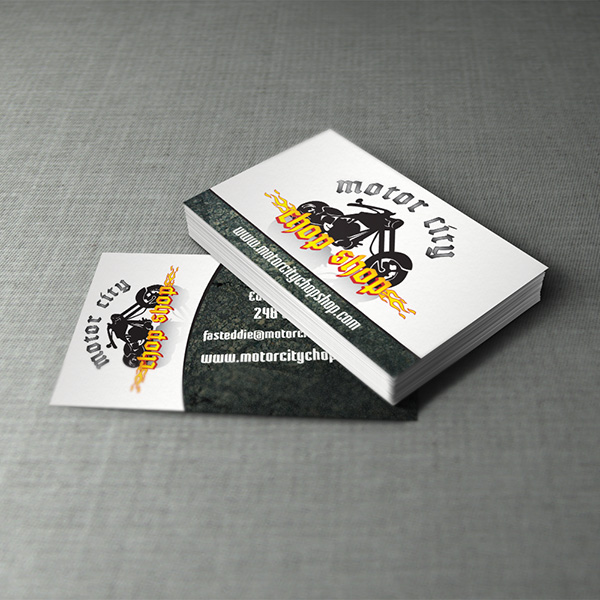 Business Card Design - Motor City