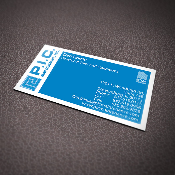 Business Card Design - PIC Maintenance