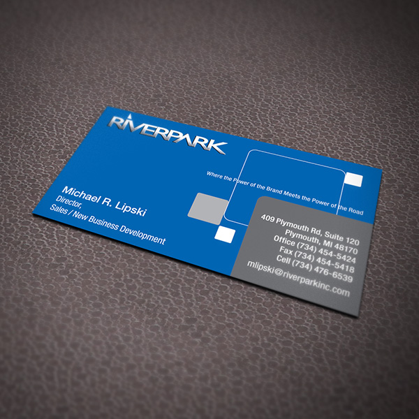 Business Card Design - Riverpark