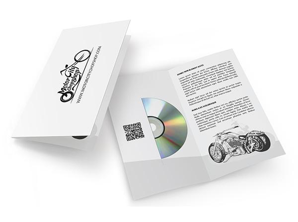 CD/DVD Pocket Presentation Folders | Custom Printed 29¢