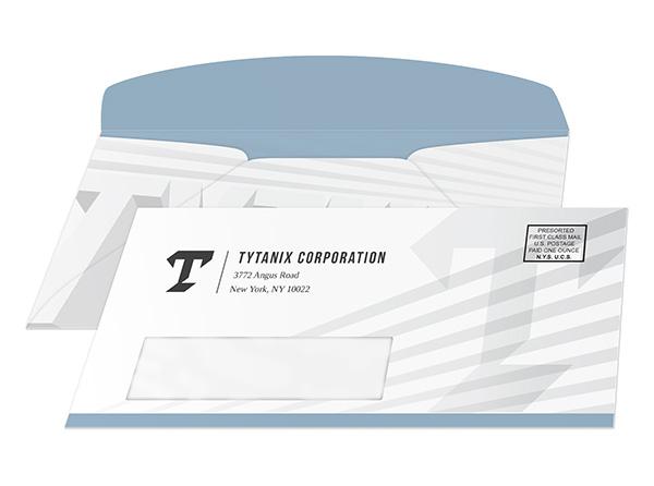 Custom Envelope Printing   Promotional Business Envelopes with Logo