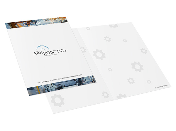 One-Piece Report Covers, Custom Report Presentation Covers