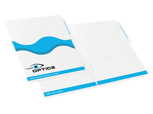 Pocket File Folders | Custom Printed from 43¢ each