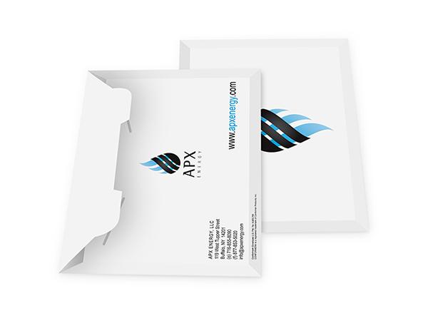 Custom Portfolio Folders | Printed Portfolio Envelopes from 61¢