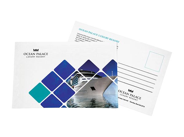 Premium Postcards | Custom Printed Business Postcards from 5¢