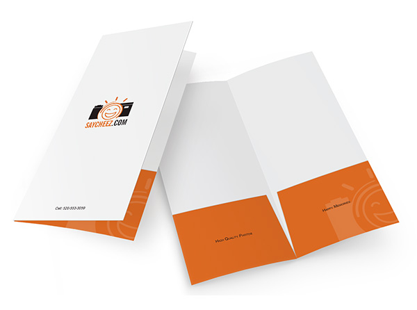 Small Presentation Folders & Custom Mini Folder Printing