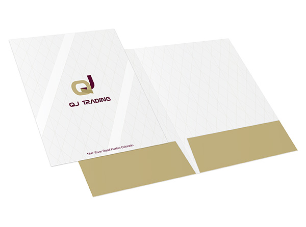Two Pocket Folders | 80+ Custom Printed Styles from 19¢
