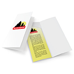 4x9 Pocket Folders from 26¢ | Presentation Folders Custom Printed