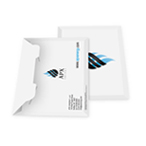Custom Portfolio Folders | Printed Portfolio Envelopes from 61¢""