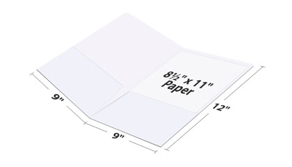 Pocket Folder Dimensions vs Paper Size
